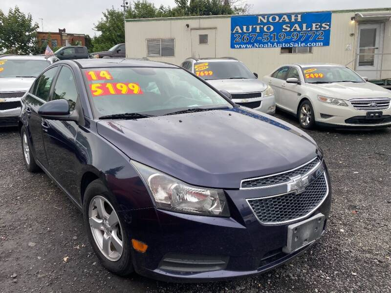 2014 Chevrolet Cruze for sale at Noah Auto Sales in Philadelphia PA