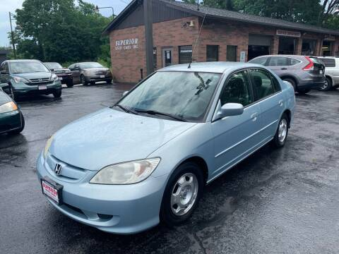 2004 Honda Civic for sale at Superior Used Cars Inc in Cuyahoga Falls OH