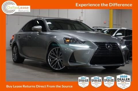 2017 Lexus IS 200t for sale at Dallas Auto Finance in Dallas TX