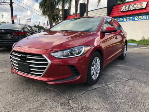 2017 Hyundai Elantra for sale at Gtr Motors in Fort Lauderdale FL