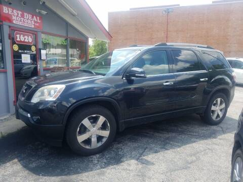 2012 GMC Acadia for sale at Best Deal Motors in Saint Charles MO