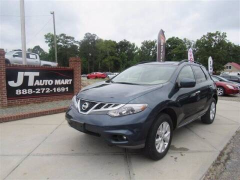 2014 Nissan Murano for sale at J T Auto Group in Sanford NC