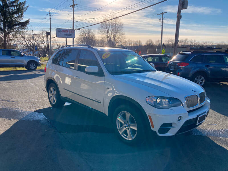 2012 BMW X5 for sale at JERRY SIMON AUTO SALES in Cambridge NY