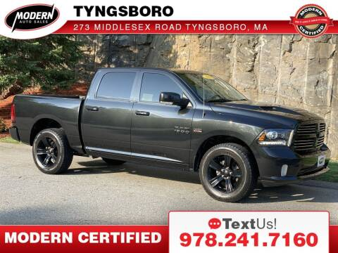 2016 RAM Ram Pickup 1500 for sale at Modern Auto Sales in Tyngsboro MA