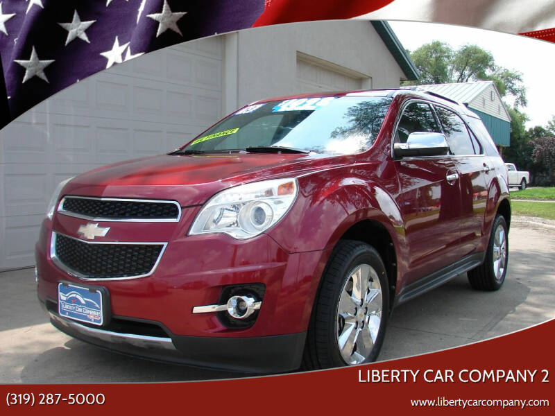2012 Chevrolet Equinox for sale at Liberty Car Company - II in Waterloo IA