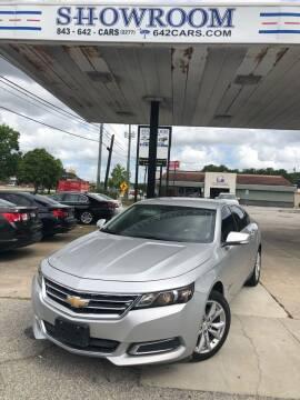 2017 Chevrolet Impala for sale at Showroom Auto Sales of Charleston in Charleston SC