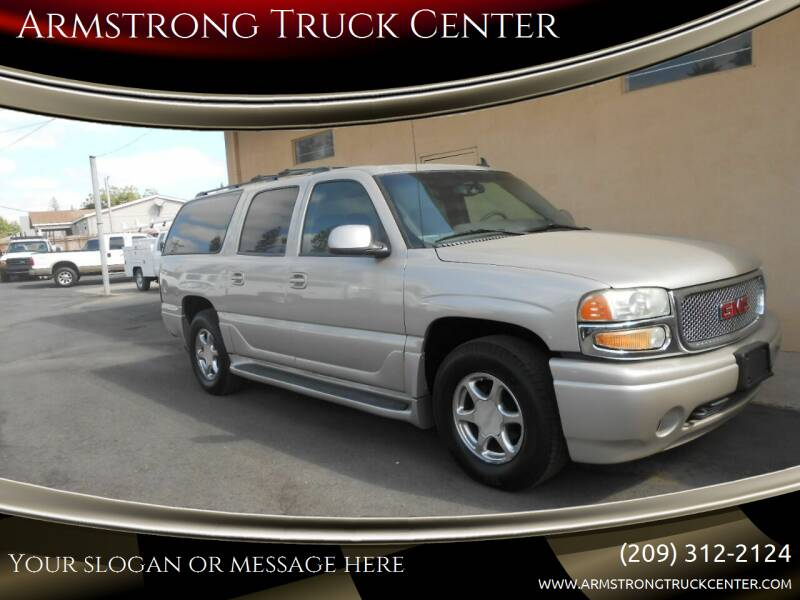 2006 GMC Yukon XL for sale at Armstrong Truck Center in Oakdale CA