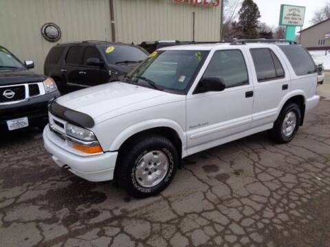 2001 Chevrolet Blazer for sale at De Anda Auto Sales in Storm Lake IA