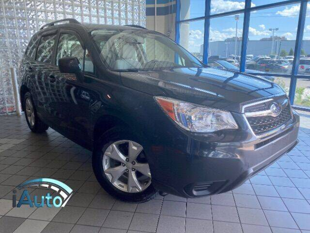 2015 Subaru Forester for sale at iAuto in Cincinnati OH