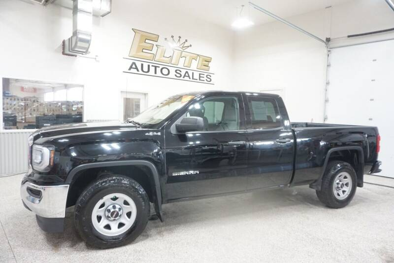 2018 GMC Sierra 1500 for sale at Elite Auto Sales in Ammon ID
