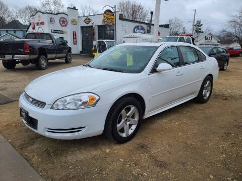 2012 Chevrolet Impala for sale at Nelson's Straightline Auto - 23923 Burrows Rd in Independence WI