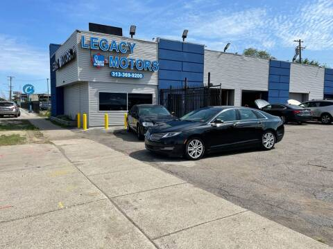 2016 Lincoln MKZ for sale at Legacy Motors in Detroit MI