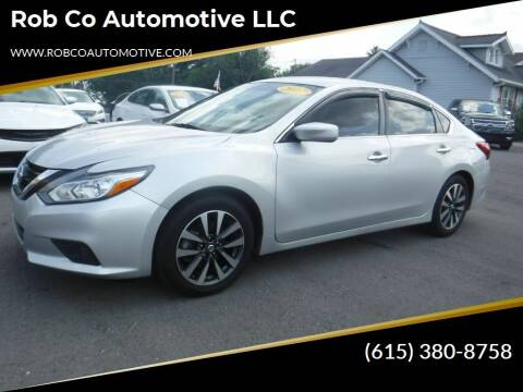 2017 Nissan Altima for sale at Rob Co Automotive LLC in Springfield TN