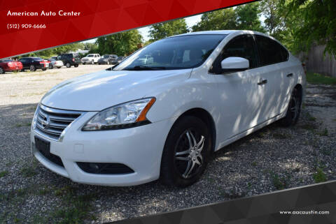 2013 Nissan Sentra for sale at American Auto Center in Austin TX