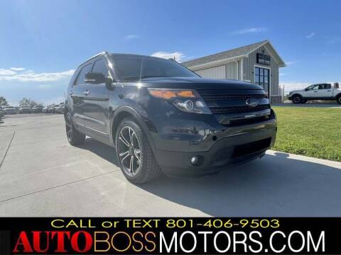 2014 Ford Explorer for sale at Auto Boss in Woods Cross UT
