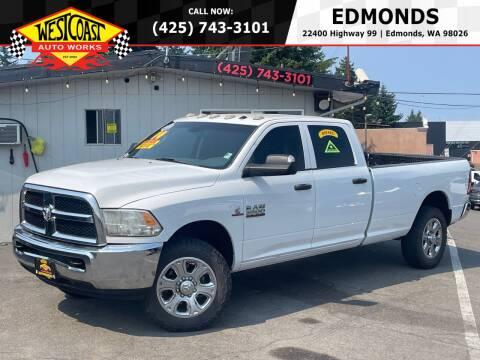 2014 RAM Ram Pickup 3500 for sale at West Coast Auto Works in Edmonds WA
