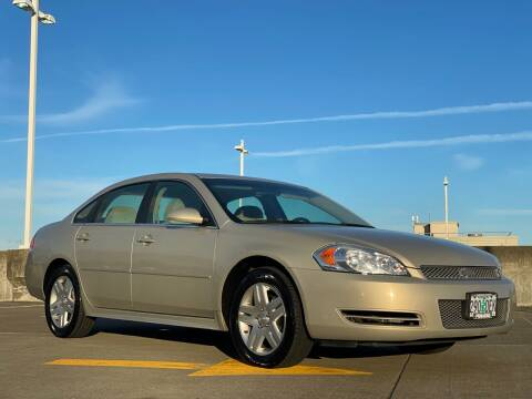 2012 Chevrolet Impala for sale at Rave Auto Sales in Corvallis OR