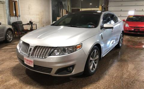 2009 Lincoln MKS for sale at Six Brothers Auto Sales in Youngstown OH