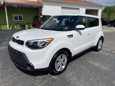 2016 Kia Soul for sale at PIONEER USED AUTOS & RV SALES in Lavalette WV