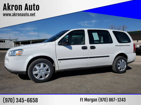 2008 Chevrolet Uplander for sale at Akron Auto in Akron CO