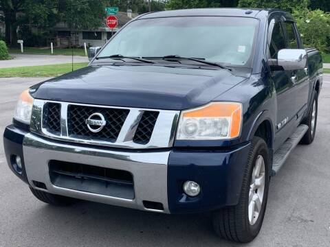 2010 Nissan Titan for sale at Consumer Auto Credit in Tampa FL
