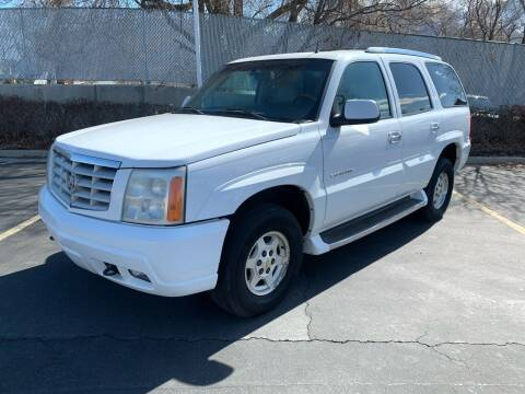 2002 Cadillac Escalade for sale at BITTON'S AUTO SALES in Ogden UT