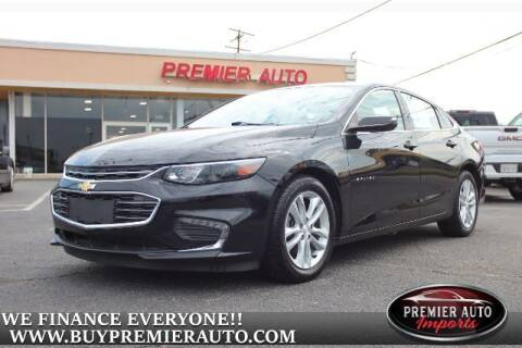 2018 Chevrolet Malibu for sale at PREMIER AUTO IMPORTS - Temple Hills Location in Temple Hills MD