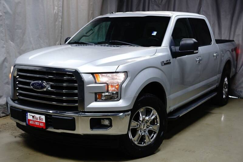2017 Ford F-150 for sale at Fincher's Texas Best Auto & Truck Sales in Houston TX