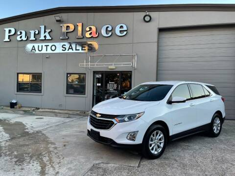 2018 Chevrolet Equinox for sale at PARK PLACE AUTO SALES in Houston TX