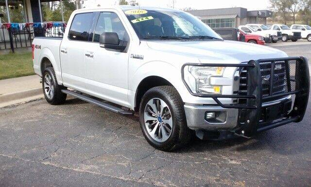 2016 Ford F-150 for sale at Jim Clark Auto World in Topeka KS