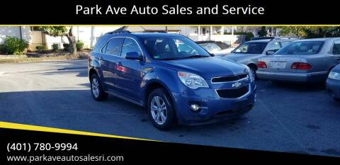 2011 Chevrolet Equinox for sale at Park Ave Auto Sales and Service in Cranston RI