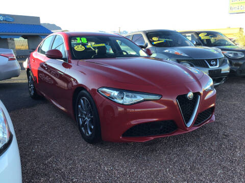 2018 Alfa Romeo Giulia for sale at SPEND-LESS AUTO in Kingman AZ