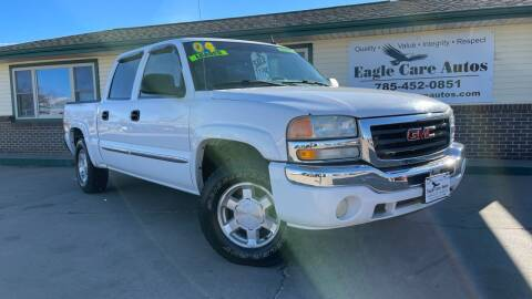 2004 GMC Sierra 1500 for sale at Eagle Care Autos in Mcpherson KS