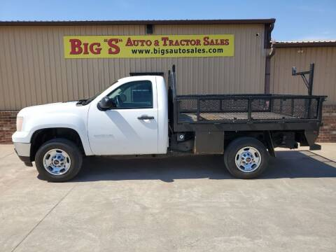 2013 GMC Sierra 2500HD for sale at BIG 'S' AUTO & TRACTOR SALES in Blanchard OK