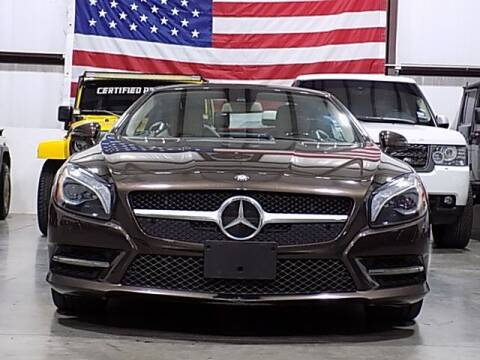 2013 Mercedes-Benz SL-Class for sale at Texas Motor Sport in Houston TX