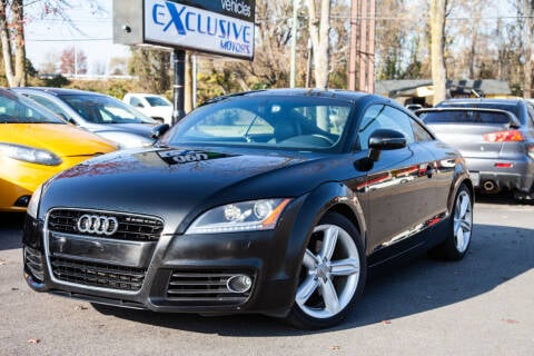 2012 Audi TT for sale at EXCLUSIVE MOTORS in Virginia Beach VA