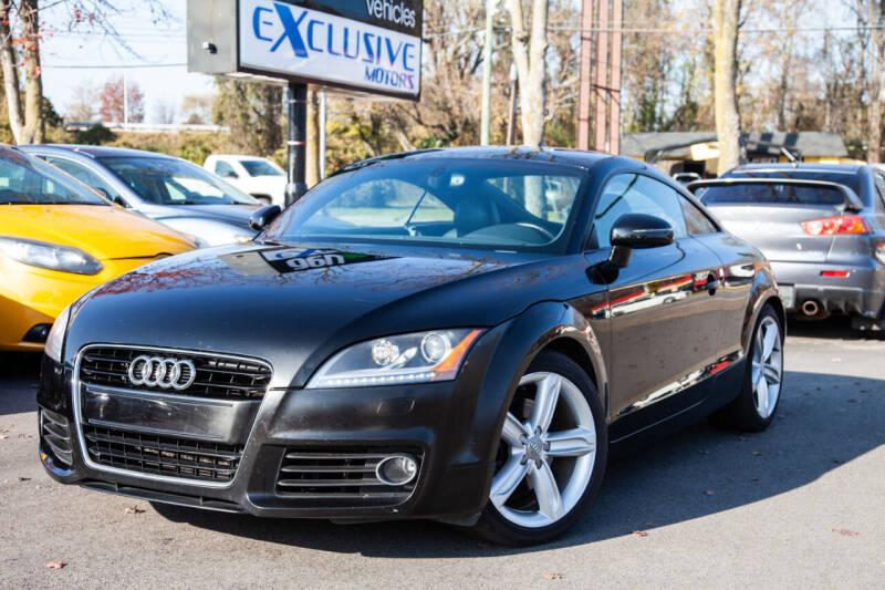 2012 Audi TT for sale at EXCLUSIVE MOTORS in Virginia Beach VA