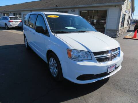 2016 Dodge Grand Caravan for sale at Tri-County Pre-Owned Superstore in Reynoldsburg OH