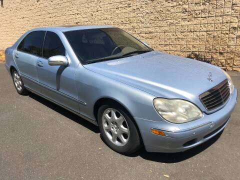 2000 Mercedes-Benz S-Class for sale at Z Motorz Company in Philadelphia PA