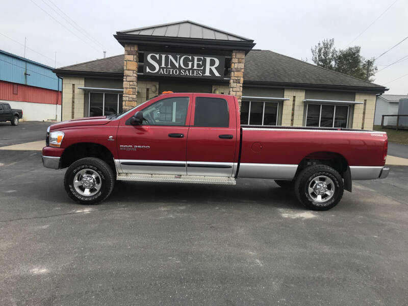 2006 Dodge Ram Pickup 2500 for sale at Singer Auto Sales in Caldwell OH
