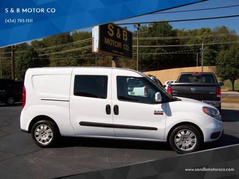 2016 RAM ProMaster City Cargo for sale at S & B MOTOR CO in Danville VA