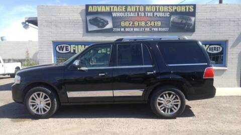 2008 Lincoln Navigator for sale at Advantage Motorsports Plus in Phoenix AZ