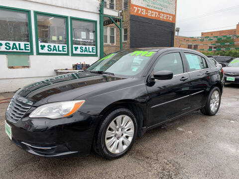2012 Chrysler 200 for sale at Barnes Auto Group in Chicago IL