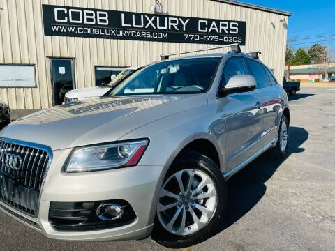 2015 Audi Q5 for sale at Cobb Luxury Cars in Marietta GA