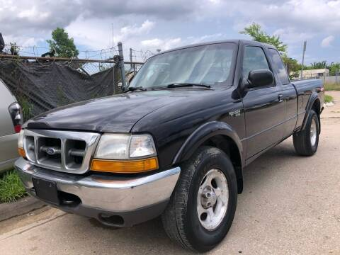2000 Ford Ranger for sale at TWIN CITY MOTORS in Houston TX