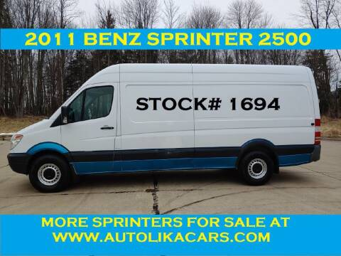 2011 Mercedes-Benz Sprinter Cargo for sale at Autolika Cars LLC in North Royalton OH