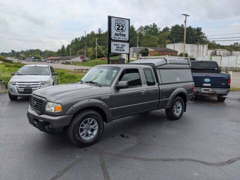 2008 Ford Ranger for sale at Route 22 Autos in Zanesville OH