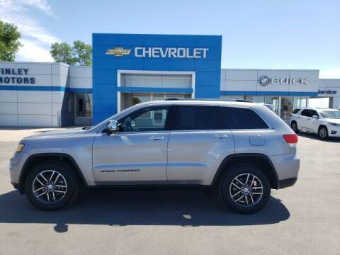 2017 Jeep Grand Cherokee for sale at Finley Motors in Finley ND