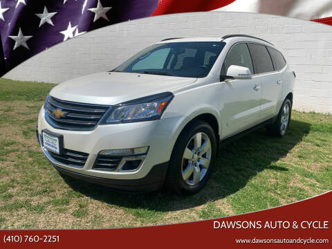 2013 Chevrolet Traverse for sale at Dawsons Auto & Cycle in Glen Burnie MD