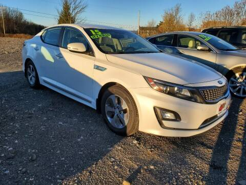 2015 Kia Optima Hybrid for sale at ALL WHEELS DRIVEN in Wellsboro PA